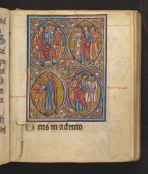 Scenes From The Passion Of Christ, In 'The De Brailes Hours' f.39r